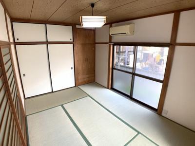 6畳和室です。