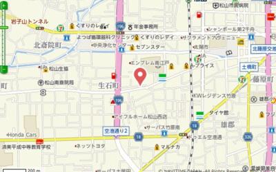 【地図】竹原事務所倉庫
