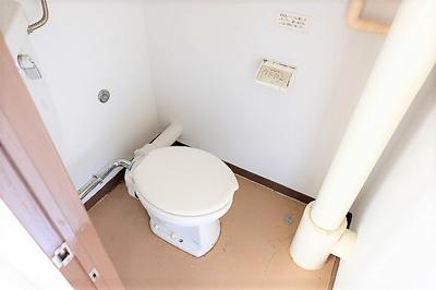【トイレ】ビレッジハウス郷地 8号棟