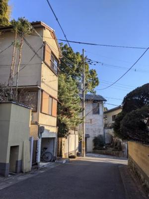 【前面道路含む現地写真】京都市山科区安朱東海道町