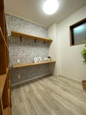勉強スペースなどにピッタリの空間です。