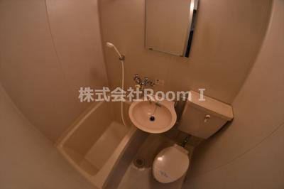 洗面所です 反転