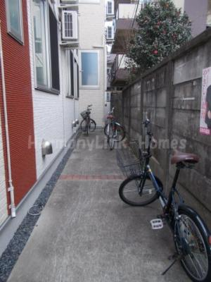 roots桜上水の駐輪スペース