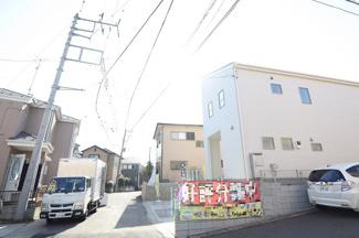 千葉市若葉区桜木北 新築一戸建て 都賀駅 前面道路公道のため駐車も楽々です