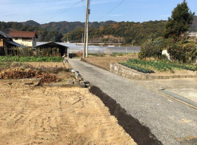 【前面道路含む現地写真】夜須町上夜須