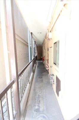 開放廊下です