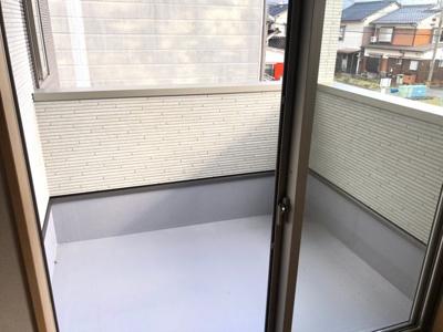 【バルコニー】鳥取市吉成新築一戸建て