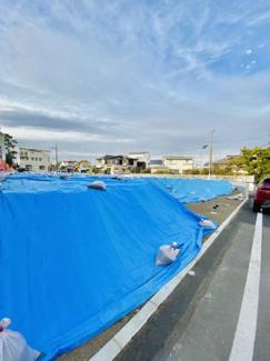 【前面道路含む現地写真】売地 菱沼海岸 建築条件なし♪