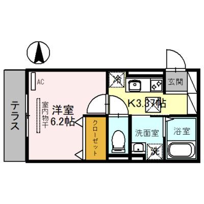 【区画図】(仮)D-room元郷4丁目