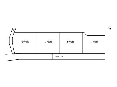 【区画図】たつの市龍野町日飼Ⅱ/4区画