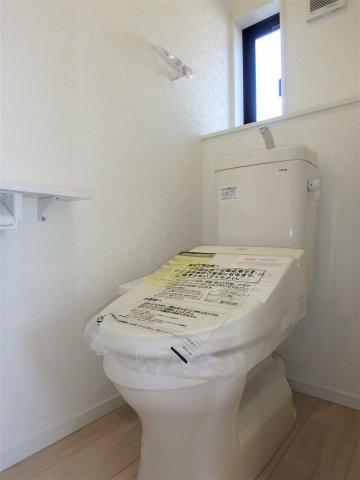 【トイレ】クレイドルガーデン 新築戸建て 羽生東-全3棟-