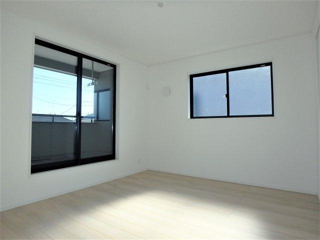 【寝室】クレイドルガーデン 新築戸建て 羽生東-全3棟-