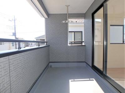 【バルコニー】クレイドルガーデン 新築戸建て 羽生東-全3棟-