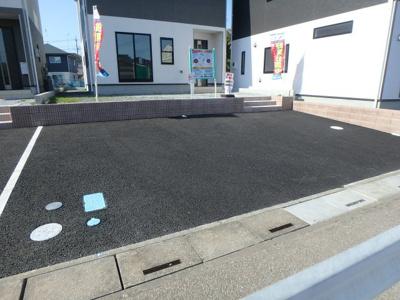 【駐車場】クレイドルガーデン 新築戸建て 羽生東-全3棟-