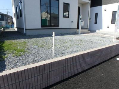 【庭】クレイドルガーデン 新築戸建て 羽生東-全3棟-