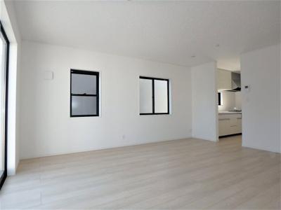 【居間・リビング】クレイドルガーデン 新築戸建て 羽生東-全3棟-