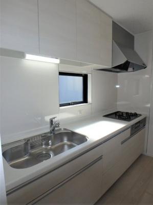 【キッチン】クレイドルガーデン 新築戸建て 羽生東-全3棟-