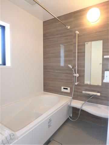【浴室】クレイドルガーデン 新築戸建て 羽生東-全3棟-