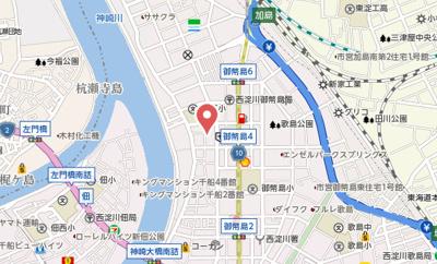 【地図】メディオ御幣島