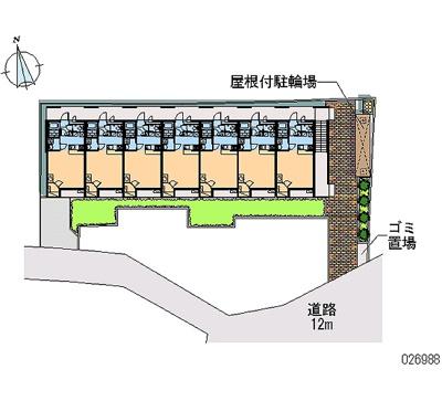 【区画図】レオパレス鎌倉台Ⅱ