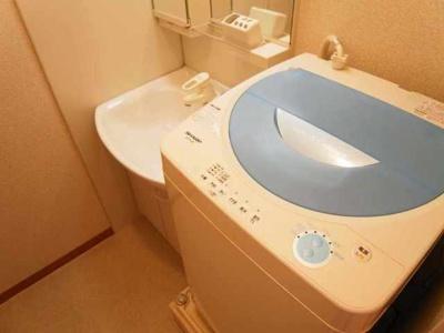 【洗面所】レオパレス鎌倉台Ⅱ