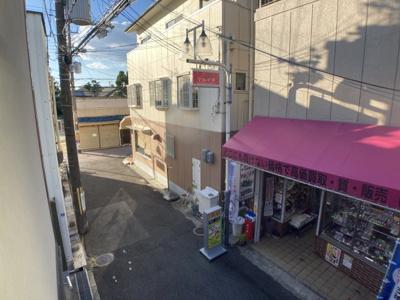【展望】プラットホーム総持寺駅前