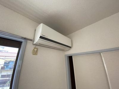 エアコン設置済み