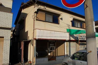 【外観】法華寺町住居付店舗