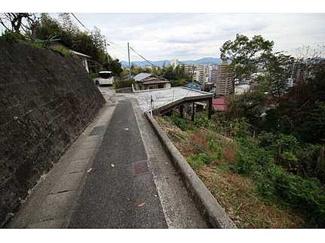 【前面道路含む現地写真】己斐西町