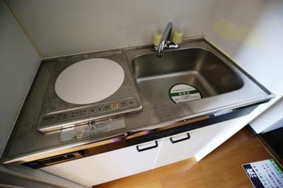 お掃除が楽々な「IHキッチン」です。
