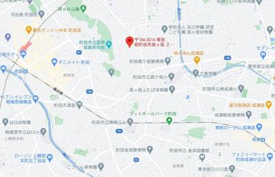 【地図】町田ハウス