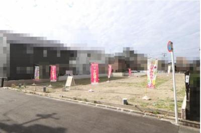 【外観】北白川西平井町 新築戸建C号地