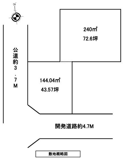 【土地図】秦野市曽屋売地