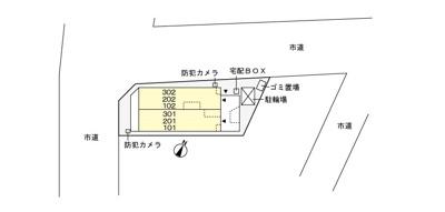 【駐車場】ブリーゼ武蔵浦和