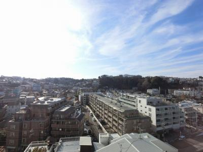 8階部分からの眺望です。