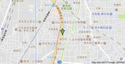 【地図】美沢コーポ