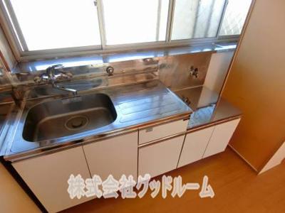 【キッチン】峰屋敷壱番館