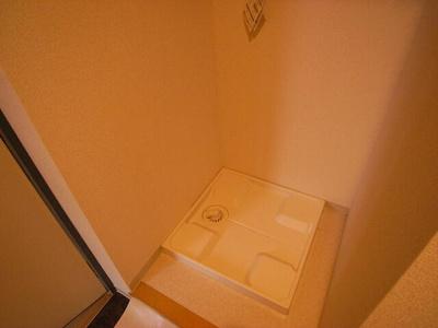 洗濯機置場は室内です♪