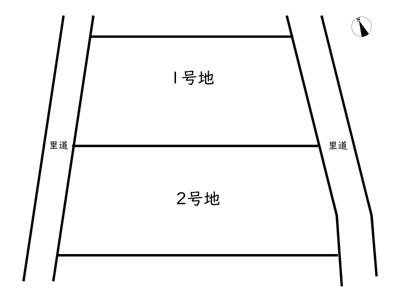【区画図】たつの市御津町苅屋/2区画