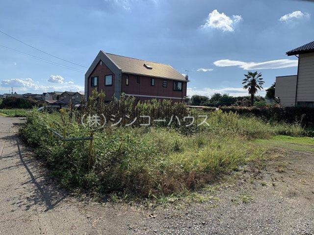 【外観】伊勢崎市田部井町 売地