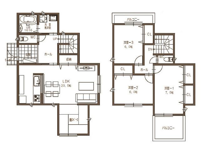 堺市西区平岡町 新築住宅です 自由設計可能です お気軽にご相談下さいね
