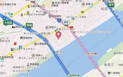 【地図】GROOVE姫里