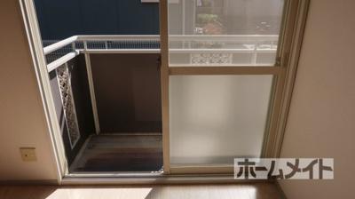 【バルコニー】グレースハイムA棟 ホクセツハウス(株)