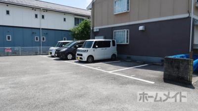 【駐車場】グレースハイムA棟