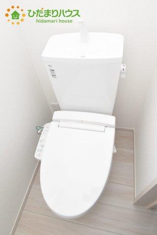 【トイレ】行田市深水町 1期 新築一戸建て 01