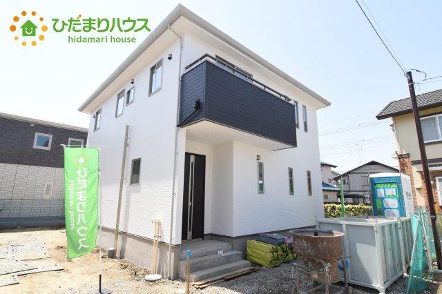 【外観】行田市深水町 1期 新築一戸建て 01