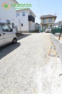 2台分の駐車スペースあり(^^)/
