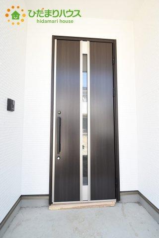 【玄関】行田市深水町 1期 新築一戸建て 01