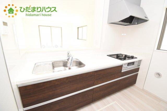 【キッチン】行田市深水町 1期 新築一戸建て 01