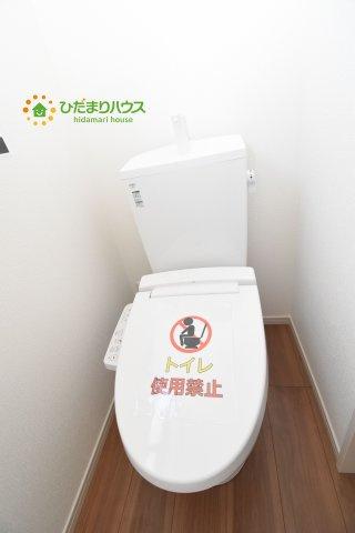 【トイレ】行田市深水町 1期 新築一戸建て 02